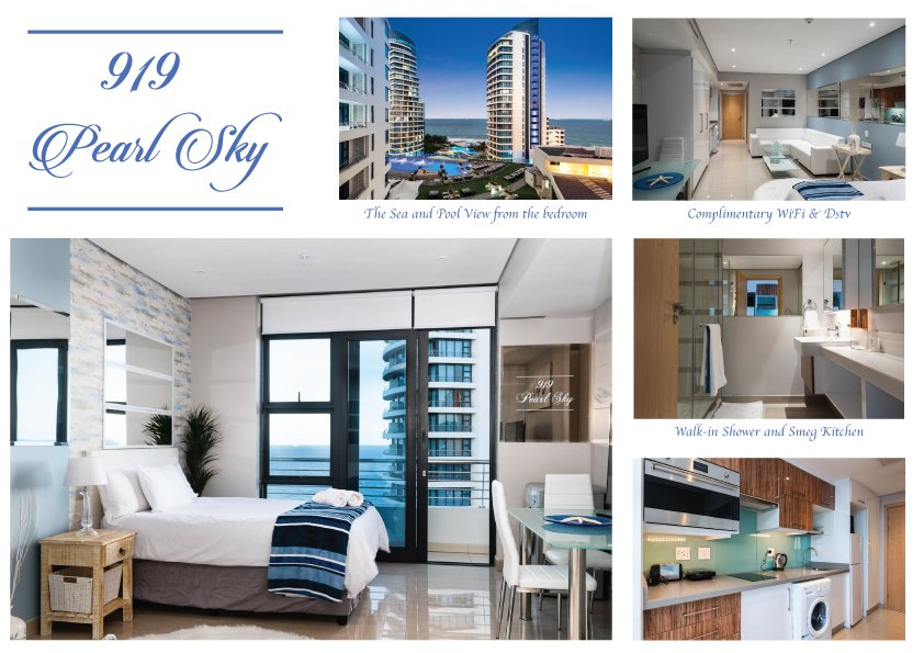 Sea-Facing 1 bedroom Studio, Serviced – 919 Pearl Sky