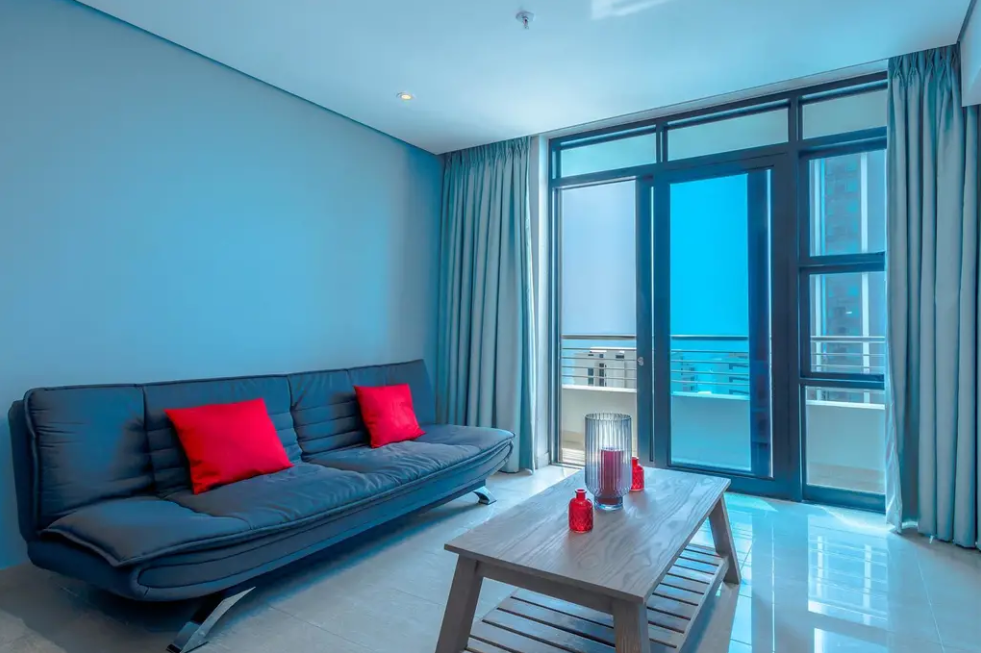 Sea Facing, 1 bedroom Studio – 1005 Pearl Sky