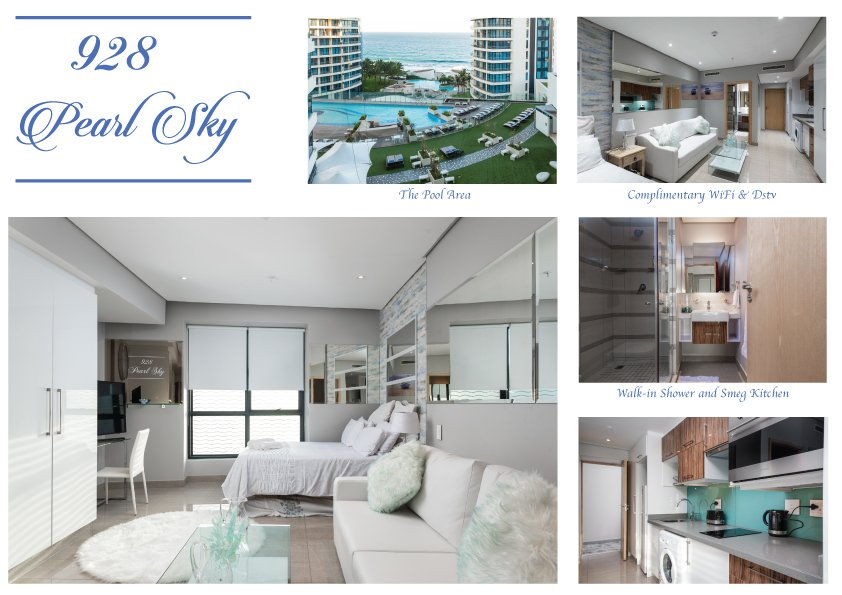 City Facing -Luxurious 1 Bedroom Studio – 928 Pearl Sky