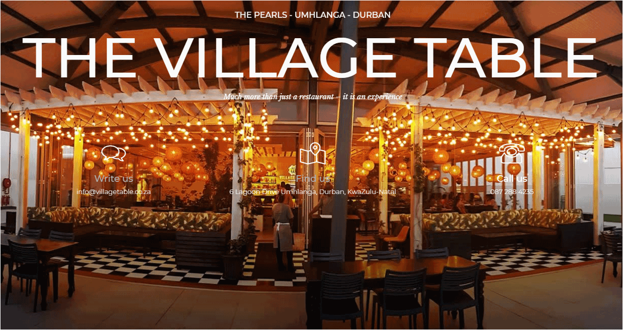 Restaurant – The Villiage Table